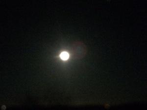 Påsken bød på fuldmåne og måneformørkelse